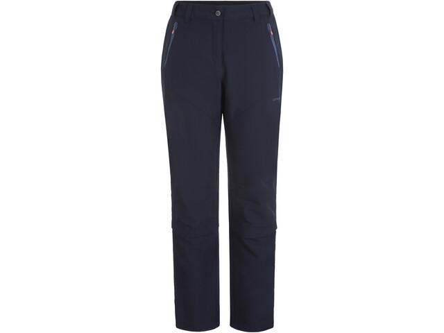Icepeak Beelitz IX Pantalones Elásticos Zip Off Mujer, dark blue